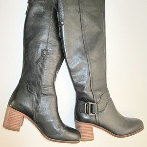 Sarto by Franco Sarto Black leather A-Mystic boots